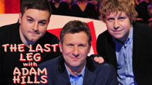 The Last Leg With Adam Hills  - Taping In Hammersmith