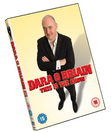 Dara O Briain - This Is The Show - New Dvd