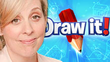 Mel Giedroyc's Draw It