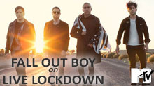 Fall Out Boy On Mtv's Live Lockdown