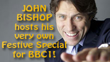 John Bishop Hosts His Very Own Festive Special For BBC1!