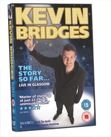 Kevin Bridges - The Story So Far - Live In Glasgow - Out Now