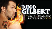 Rhod Gilbert - The Man With The Battenberg Tattoo - Live Dvd Recording