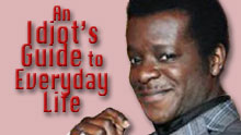 Stephen K Amos Hosts An Idiot's Guide To Everyday Life