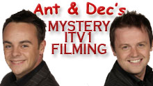 Ant & Dec's Mystery ITV1 Filming In Southend